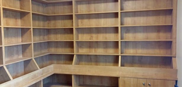 Large library Shelving